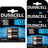 8 x CR123 3V Duracell Ultra Litio Batteria Fotografica - DL123 - EL123A - CR123A - CR17345