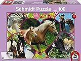 Schmidt Horse Love Jigsaw Puzzle (100 Pieces)