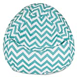 #3: Chevron design high Quality HD printed bean bag cover filled with bean Size XXXL by Style Crome