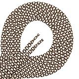 di FICC vecchiano laces-lacets de qualité ronde indéchirable, diamètre: env. 4-4,5mmNous vous recommandons notre lacets pour chaussures de travail, Sports de montagne, de sport, en cuir, de plein air ou de sécurité. Les lacets sont spécialement ...