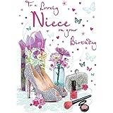 Tarjeta de cumpleaños para sobrina – 9 x 6 pulgadas – Regal Publishing
