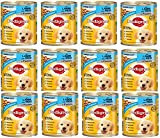 Pedigree Junior Hundefutter Lamm und Reis, 12 Dosen (12 x 400 g)