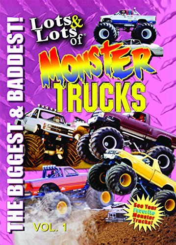 Lots and Lots of Monster Trucks DVD Vol. 1 by Monster Trucks - Monster-truck-dvd