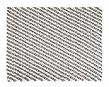 Kukee: rechteckig Weiß Grau Rechteck Balls Woolen Filz-Teppich, Filzkugeln (80cm x 100cm / 2' 7.5'' x 3' 3.4'')