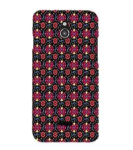 EPICCASE flowery knots Mobile Back Case Cover For Infocus M2 (Designer Case)