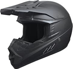 Crosshelm Motocross Downhill Enduro Helm Integralhelm Motorradhelm RALLOX 601 matt schwarz Größe M