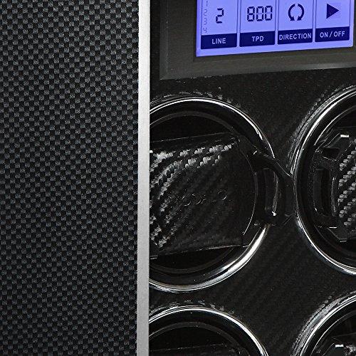Modalo Timeless MV3 Uhrenbeweger für 4 Automatikuhren + 2 Ablagen in carbon 3004883 - 5