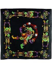 Black Skull Jester Juggling Eight Ball Bandana/ Bandanna Scarf