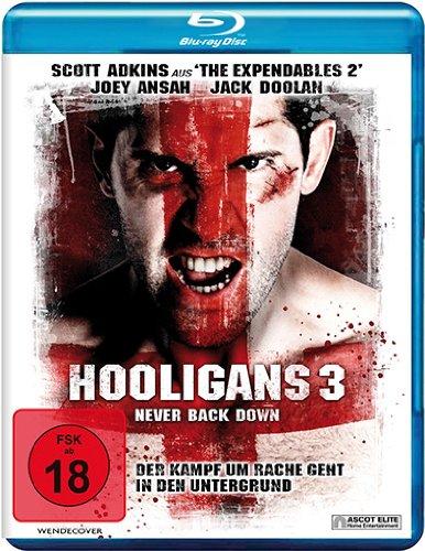 Hooligans 3 - Never Back Down [Blu-ray]