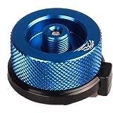 Lixada Campingkocher Anschluss Gas Flasche Adapter/Gas Gasflaschenadapter, Material: Aluminiumlegierung