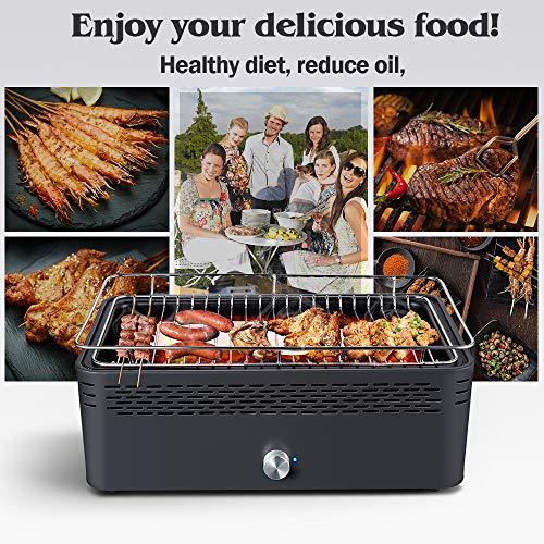 Zoom IMG-1 aobosi barbecue griglia a carbone