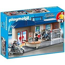 Playmobil - Maletín jefatura de policía (5299)