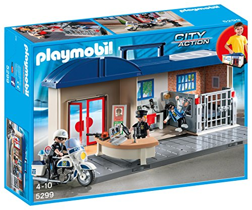 Playmobil - 5299 - Commissariat de police transportable