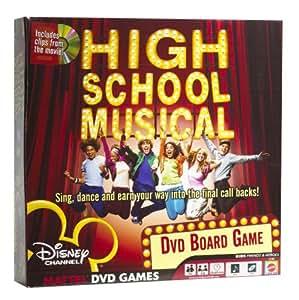 High School Musical DVD Game