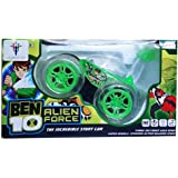 Ben 10 CaR With Music and Light Stunt Car