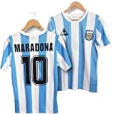 LICHENGTAI Retro 1986 Argentina Uniforme de fútbol,Camiseta Argentina 1986,Camiseta Argentina Futbol,Camiseta Argentina Hombr