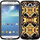 Hülle für Samsung Galaxy Mega 5.8 (i9150) - Gelb-braun Fantasie Muster by Costasonlineshop