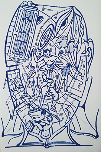 dibujo-boligrafo-azul-sobre-carton-pluma-surrealismo-simbolismo