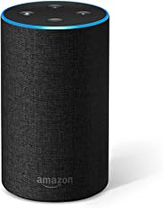 Certified Refurbished Amazon Echo (2nd generation), Charcoal Fabric