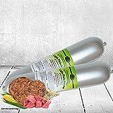 DOGREFORM Light - Fleischwurst nur 4,6% Fett 6x800g diese Wurst für den Hund muss nicht gekühlt werden Hundewurst in Premiumqualität