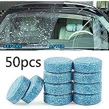 Limpiaparabrisas para limpiar ventanas de coche, 50 unidades, de Effervescent Tablets