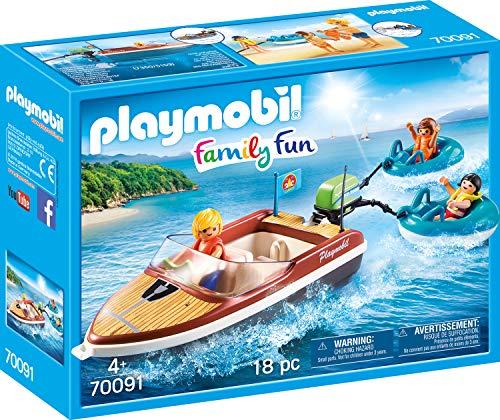 Playmobil 70091 Family Bateau de Sport Multicolore
