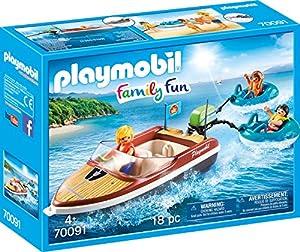 Playmobil 70091Family sportboot con Fun de neumáticos