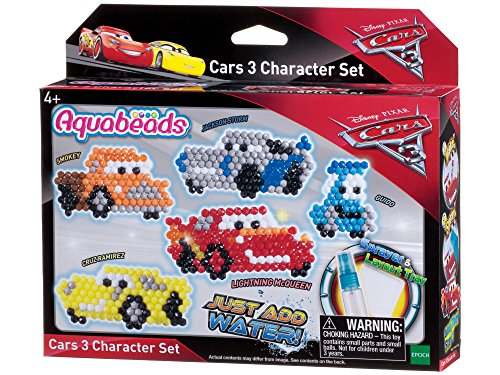 Aquabeads Epoch Traumwiesen 30218 Cars 3 Figurenset Bastelset für Kinder