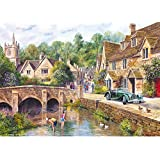 Gibsons Castle Combe Jigsaw Puzzle (1000 Pieces)