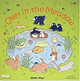Over in the Meadow (Classic Books with Holes) by [Evans, Michael]