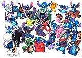 Top Stickers !  Lot de 50 Stickers Lilo et Stitch - Autocollant Top Qualité et Non Vulgaires - Super, Bomb, Fun, Lilo&Stitch - Customisation ordinateur portable, bagages, moto, vélo (#50-LILO2)