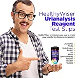 Strisce analisi urine 10 parametri, strisce UTI per test bilirubina, sangue, glucosio, chetoni, leucociti, nitriti, pH, proteine e altro, per diabetici, cistifellea e problemi renali, 150 strisce
