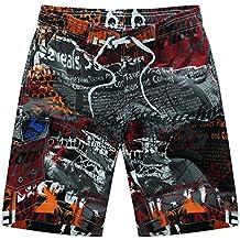 Niseng Hombres Pantalonetas De Playa Deportes Rápido Secado Boardshorts Bañadores Surf Ropa De Playa