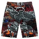 Niseng Homme Plage Short Séchage Rapide Maillot De Bain Board Shorts Casual Surf Shorts