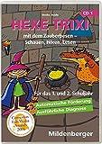 Hexe Trixi mit dem Zauberbesen CD-ROM für Windows 95/98/2000/Me/XP. Schauen, Hören, Lesen. 1. und 2. Schuljahr (Lernmaterialien), Basicversion Einzellizenz - Monika Woldin