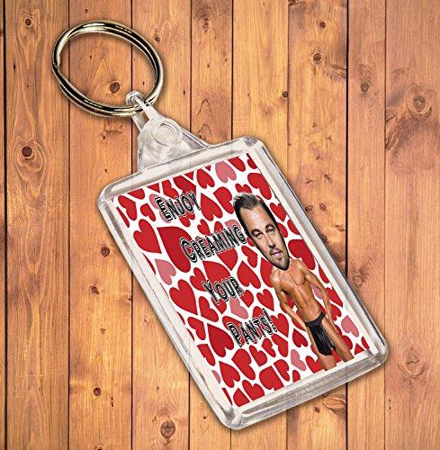 Preisvergleich Produktbild Funny / Rude Geschenk Sexy Hunk Schlüsselanhänger – für die Leonardo DiCaprio Admirer
