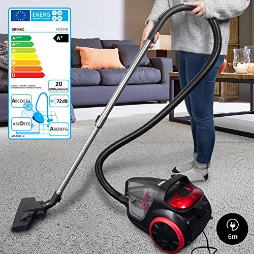 Duronic Vacuum Cleaner Vc5010 Electric Bagless Sweeper