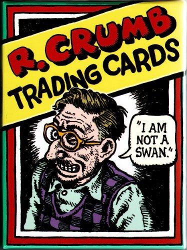 R. Crumb 36 Character Boxed Trading Card Set NEW 2010