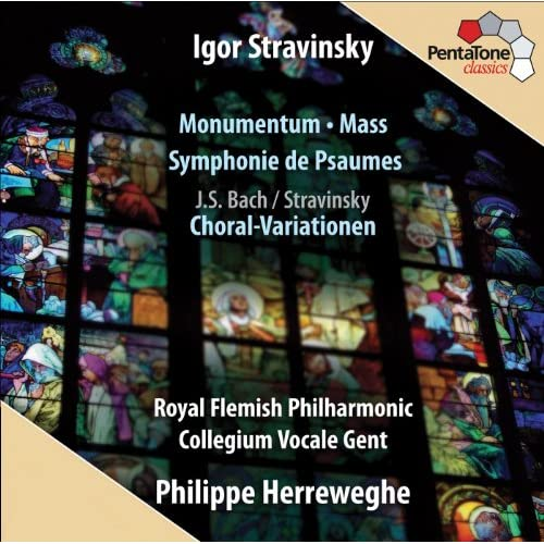 Canonic Variations on Vom Himmel hoch da komm ich her, BWV 769 (arr. I. Stravinsky for choir and orchestra): Variation 4: In canone all'Ottava per augmentationem