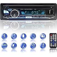 BETECK Autoradio Bluetooth FM USB MP3 Stéréo Mains Libres in-Dash