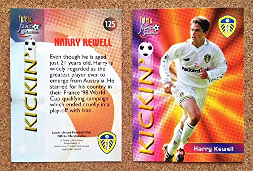 FUTERA 2000 Leeds United FC Football Club Playing Card No 125 HARRY KEWELL