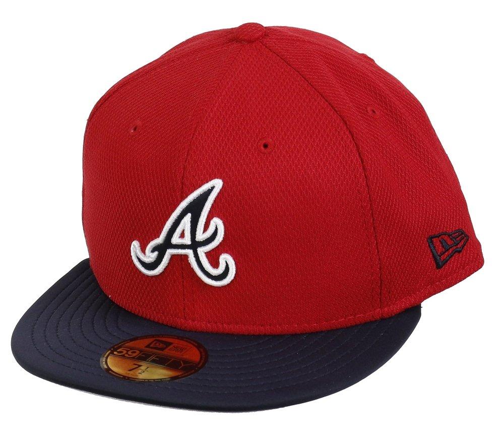 NEW ERA cappello Braves Diamond Reverse 59-fifty, Unisex, Schirmmütze Braves Diamond Reverse 59-Fift