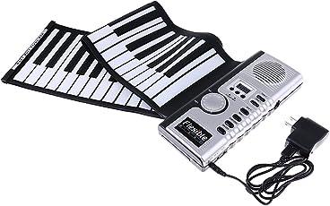 perfk Faltbar 61 Schlüssel Flexibel Elektrisch Aufrollen Tastatur Klavier
