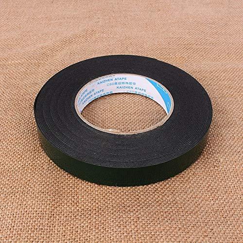 Schwarzes doppelseitiges Klebeband, 10 m PE starkes wasserdichtes Schaumband, selbstklebend, doppelseitig for Türdichtung und Fensterisolierung. (Größe : 20mm) -