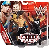 WWE KEVIN OWENS JOHN CENA W/ UNITED STATES BELT - BATTLE PACK SERIES 39 !