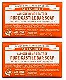 Best Bar Savons - Organic Tea Tree pure Castille Savon du Dr Review