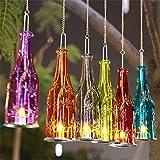 Bazaar Bierflasche hängende Glas Kerzenständer Kerzenleuchter Candlelight Candelabra Romantische Hochzeitsdeko