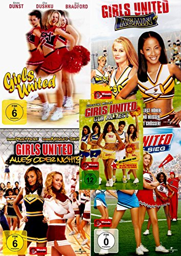 Girls United Collection | Agian | Alles auf Sieg | Alles oder nichts | Gib alles (5-DVD)