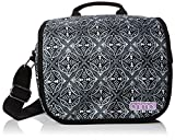 Animal Crest Messenger Bag, 18 cm, Black/White