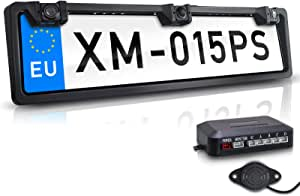 Xomax Xm 015ps Rückfahrkamera Mit Kennzeichen Elektronik